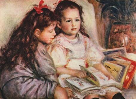 印象派大师雷诺阿经典油画作品(200 张)高清全集