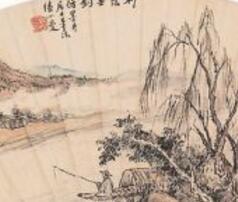 民国女神林徽因和陆小曼的丹青画作也是非同一般