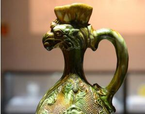 """""""瞻礼大唐——'一带一路'背后的器用""""文物展在西安唐皇城墙含光门遗址博物馆展出"""