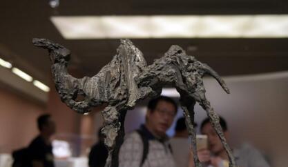 """""""首届全国雕塑艺术大展""""在北京中国美术馆开幕"""