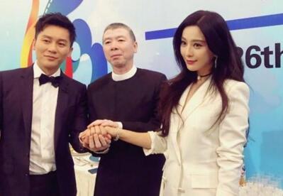 李晨携手范冰冰为自己新电影现身宣传活动