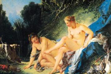 历代大师笔下的美丽裸体画惊世之美