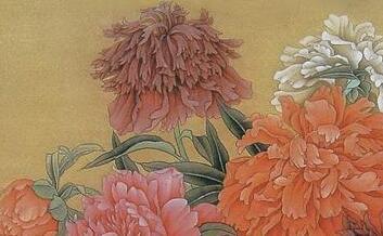 中国当代工笔重彩画名家名作鉴赏