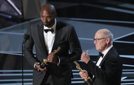 科比·布莱恩特的《亲爱的篮球》摘得第90届美国奥斯卡金像奖最佳动画短片奖