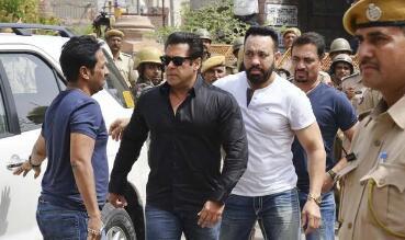宝莱坞巨星萨尔曼·汗杀害印度羚被印度法庭判处5年监禁
