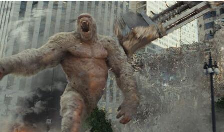 《狂暴巨兽》连续六天稳坐票房冠军宝座 累计票房已超4.6亿元