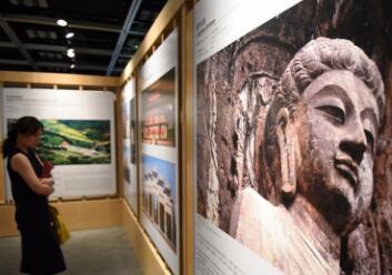 """""""中国世界文化遗产三十年图片展""""29日在香港文物探知馆举行开幕典礼"""