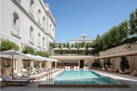以色列的雅法 最古老建筑改造的新酒店