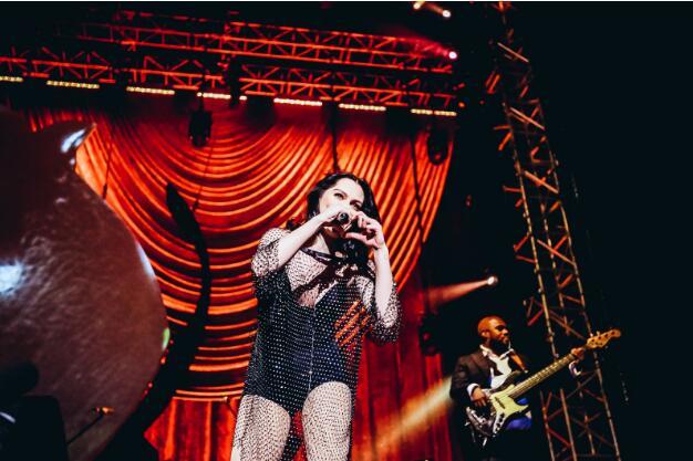Jessie J重返魔都开唱 中国巡演内地场顺利收官