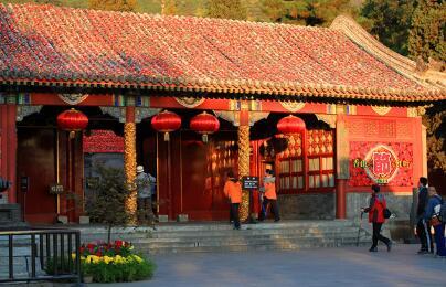 一年一度的香山红叶节闭幕