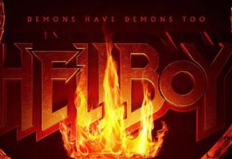 新版《地狱男爵》发布新海报 长角抢戏气场强大