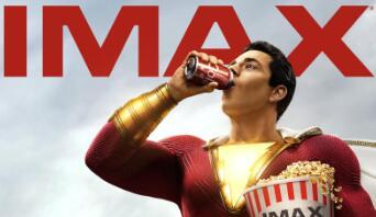 IMAX发布《雷霆沙赞!》专属海报 DC英雄4月5日登录IMAX影院