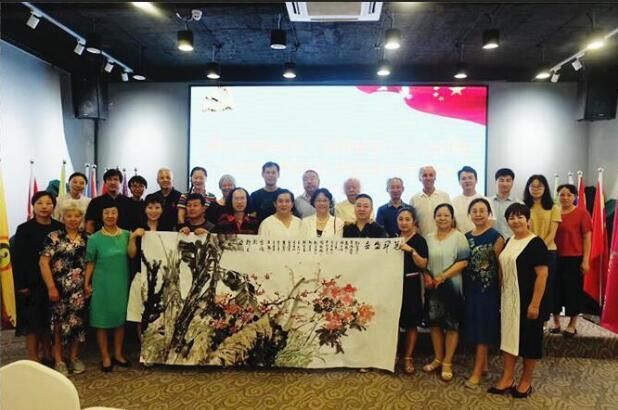 大美中华,朝圣敦煌,翰墨至善书画艺术雅集活动在京举行