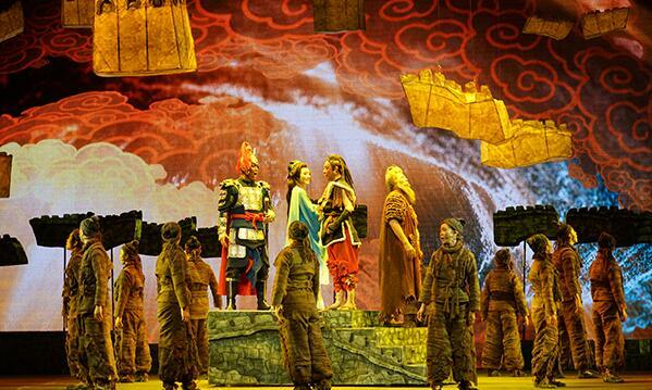 中国儿童艺术剧院2019年压卷之作《长城的传说》成功首演