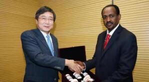 埃塞俄比亚驻华大使特肖梅拜会文化和旅游部